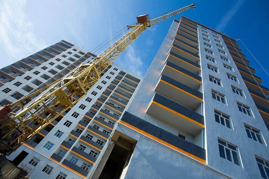 Запуск новых проектов жилья в РФ увеличился почти на 40%